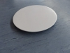 weiße Kuchenplatte
